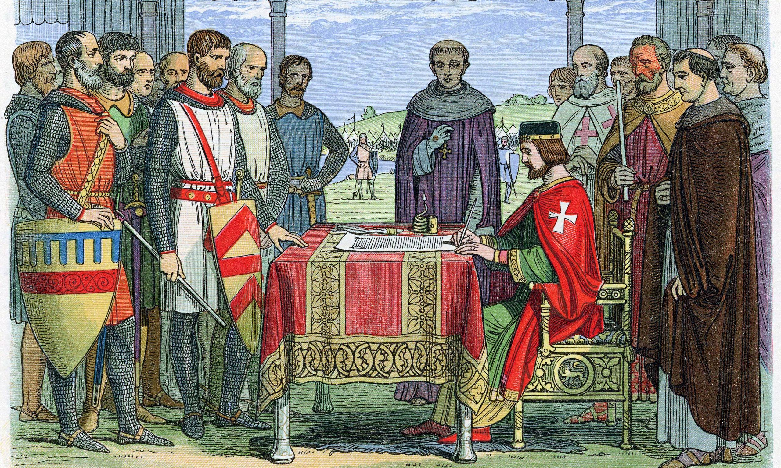 Signing of the Magna Charta