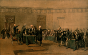 Signing of the Declaration of Independence July 4, 1776