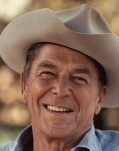 Ronald Reagan at his ranch