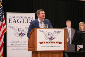 Thorner: Next Generation of Conservatives Deliver Hope for Future To Gateway Eagle Council