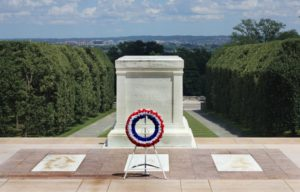 Honoring Tomb of the Unknown Soldier