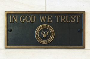 In God We Trust America's national motto
