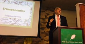 Stephen Moore speaks on his new book, Trumponomics
