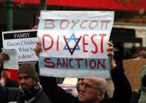 Boycott Divest Sanction BDS