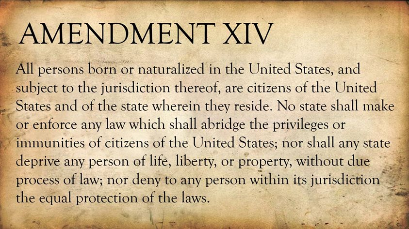 Anchor babies and the 14th Amendment