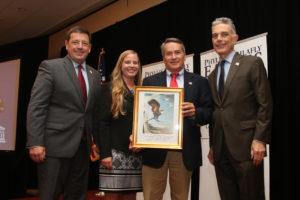 Rep. Jody Hice (GA) keynote speaker at Eagle Council presented Eagle Award