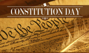 Celebrate US Constitution Day September 17
