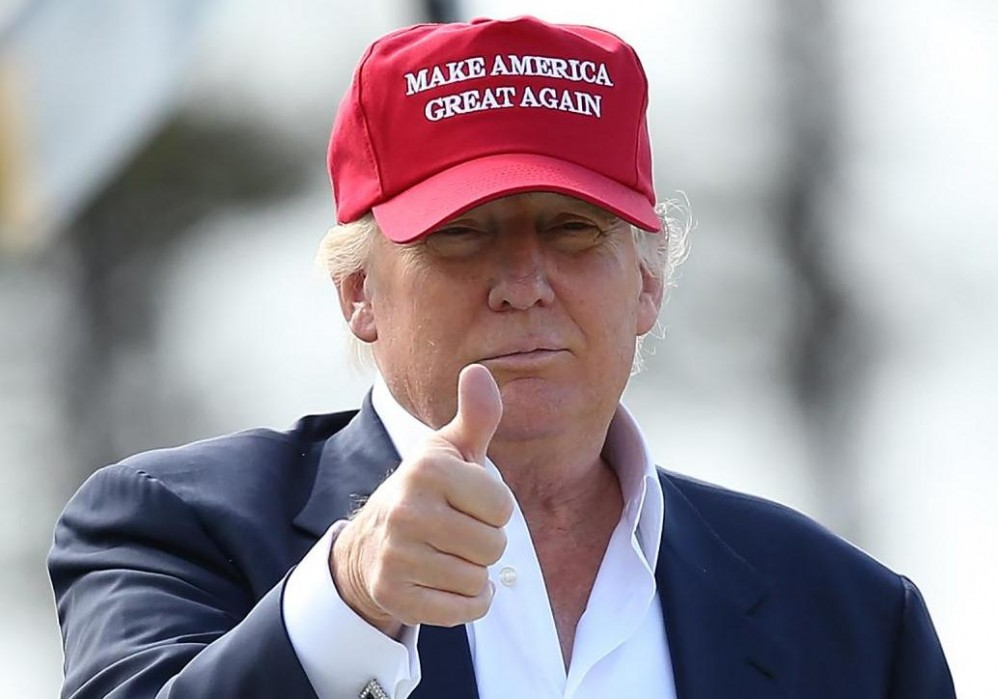 Candidate Donald J. Trump - Make America Great Again 2016