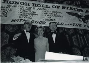 celebration of the official end of the ERA, March 22, 1979 with Phyllis Schlafly, Jesse Helms and Orrin Hatch