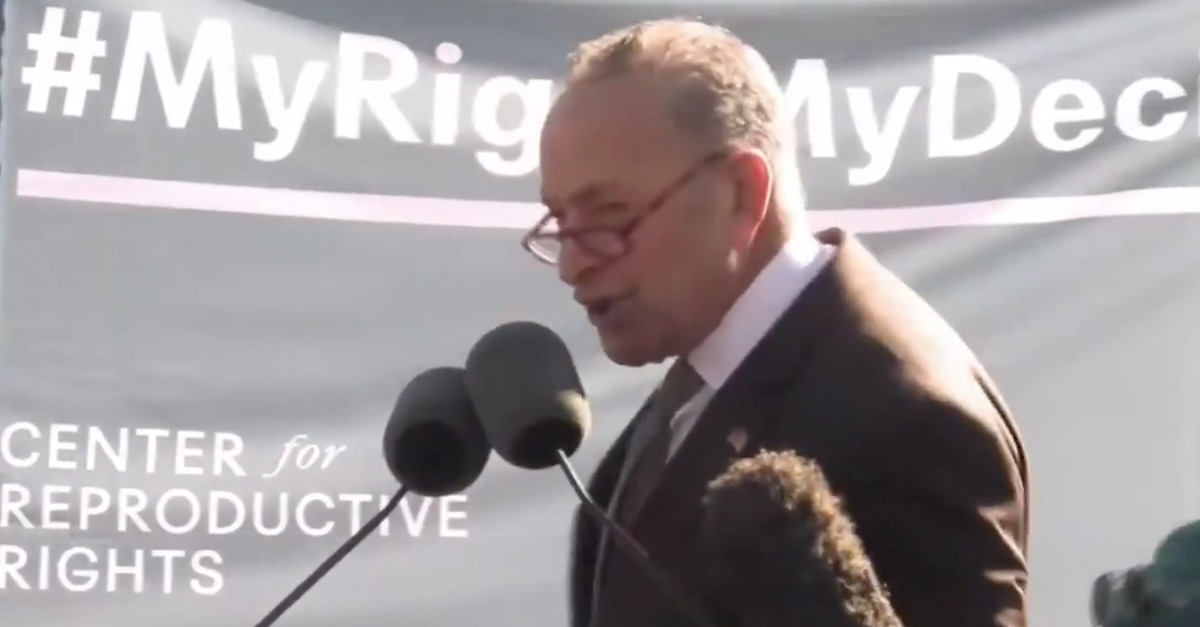 Cryin' Chuck Schumer Throws A Tantrum