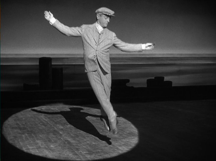 James Cagney, 73, tap dances every day