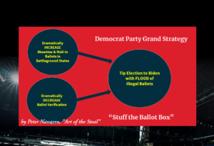 Stuff the Ballot Box Strategy Peter Navarro Art of the Steal