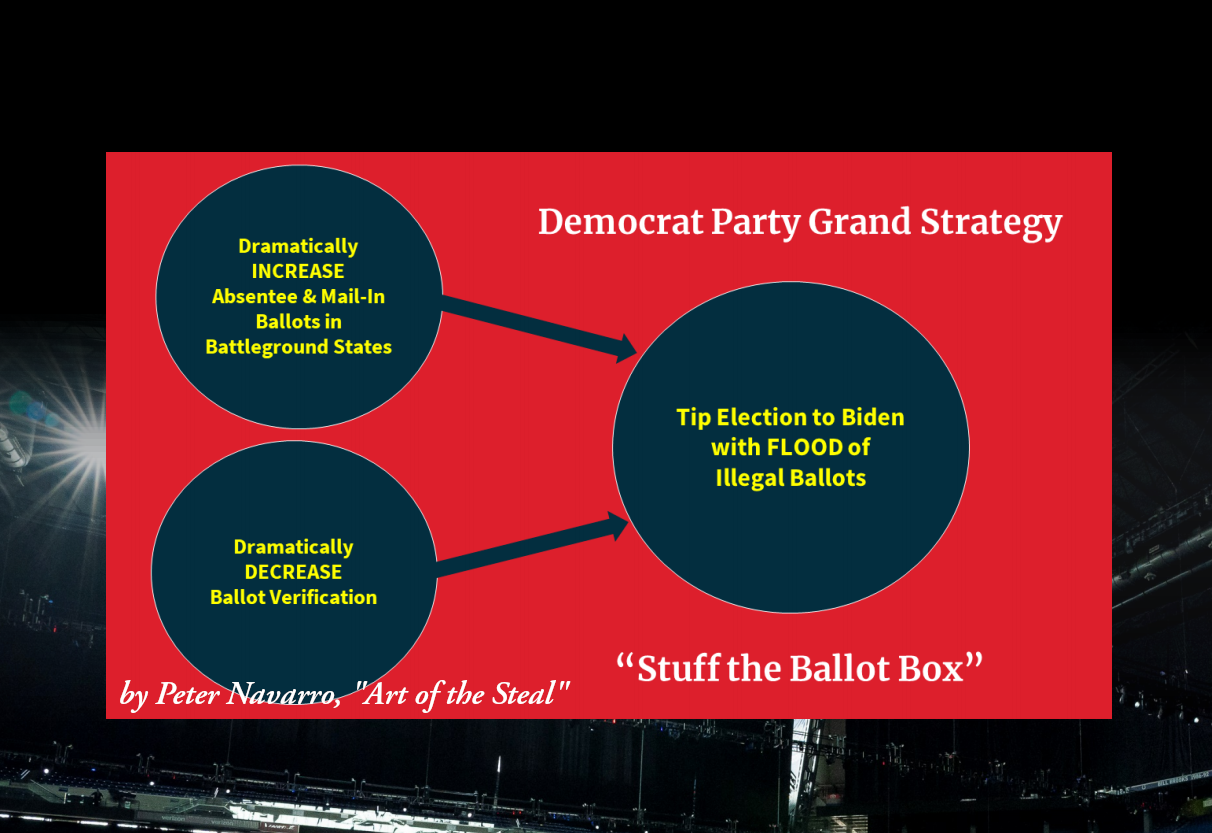 Stuff the Ballot Box Strategy Peter Navarro Art of the Steal