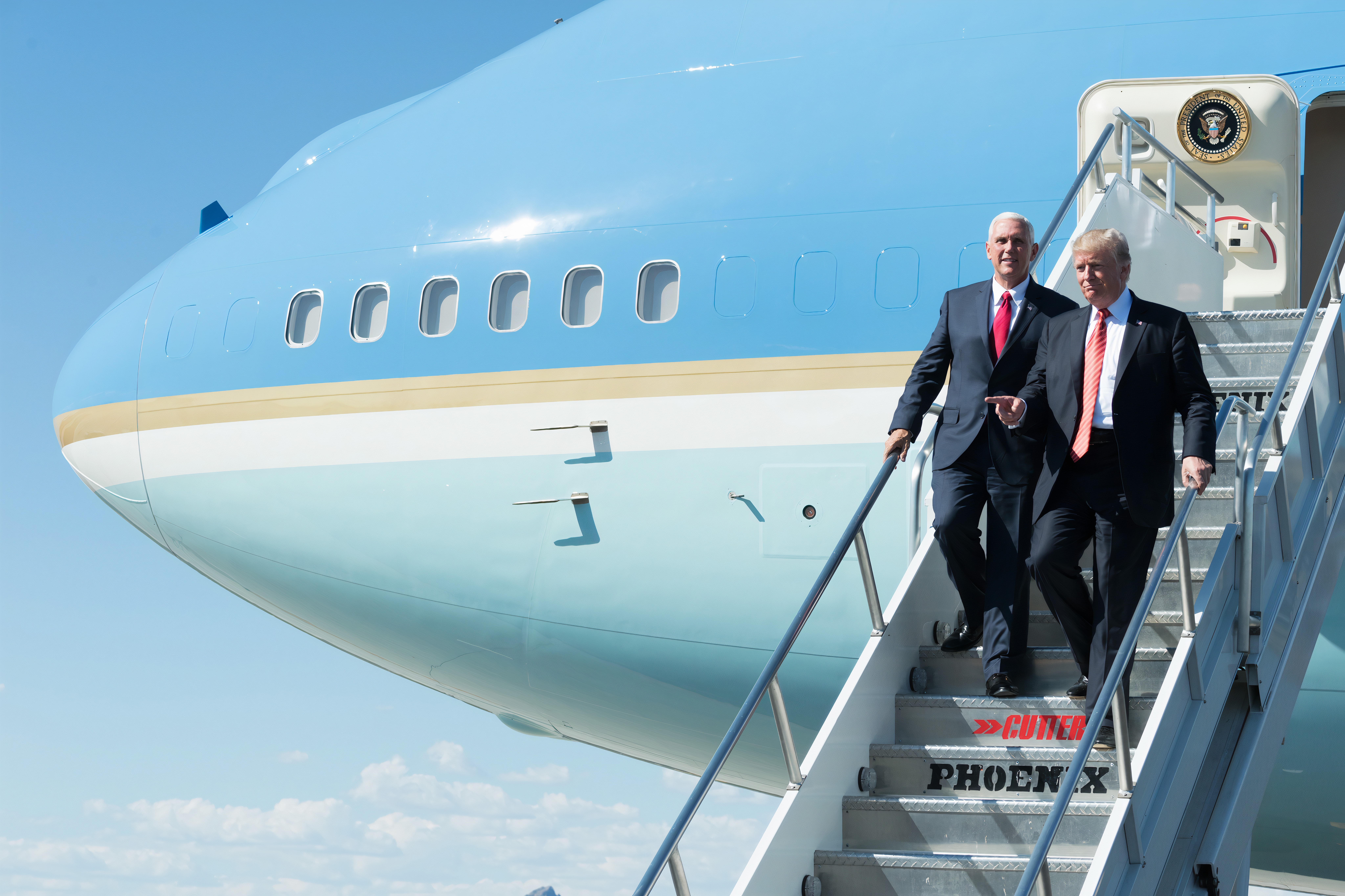 VP Mike Pence with President Donald J. Trump